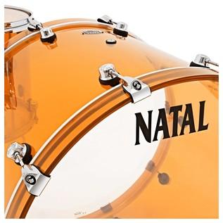 Natal Arcadia Acrylic Shell Pack, Orange