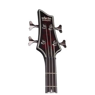 Hellraiser Extreme-4 Left Handed Bass,Crimson Red Burst