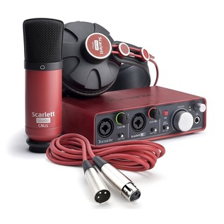 Focusrite Scarlett Studio Recording Package - Bundle