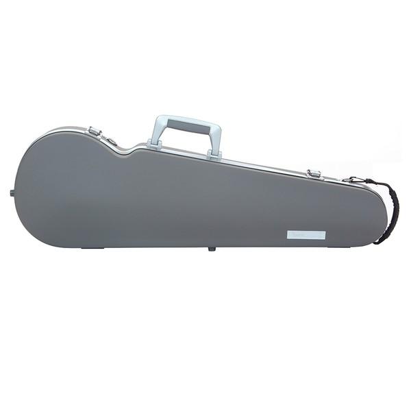 BAM 2002XL Hightech Contoured Violin Case, Grey Panther