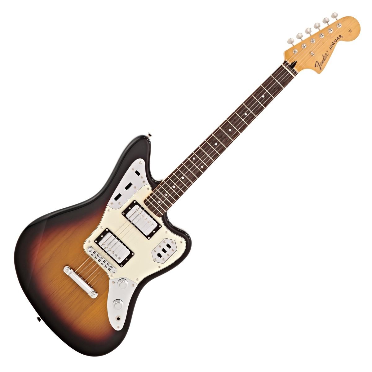 fender japan fsr jaguar special electric guitar 3 tone sunburst at. Black Bedroom Furniture Sets. Home Design Ideas