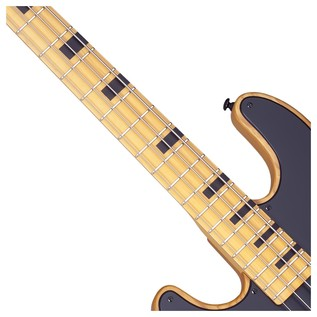 Model-T Session Left Handed Bass Guitar, Aged Natural Satin