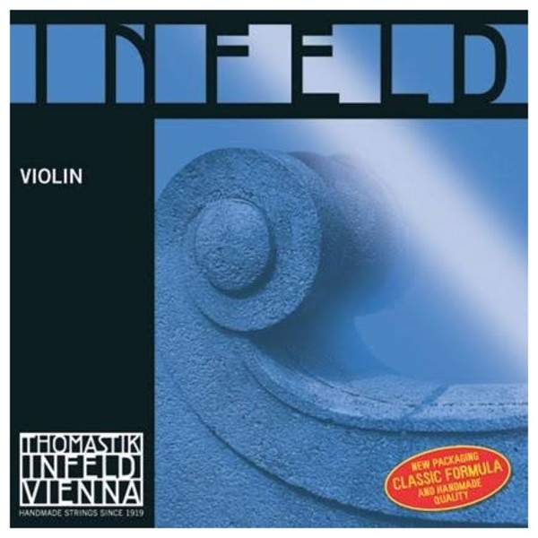 Thomastik Infeld Blue 4/4 Violin D String, Hydronalium Wound