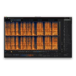 iZotope RX6 Advanced Audio Editor - Advanced Editor View