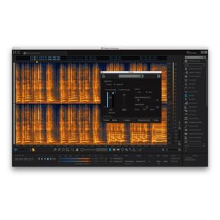 iZotope RX6 Advanced Audio Editor 2017 - De-Ess Editor View