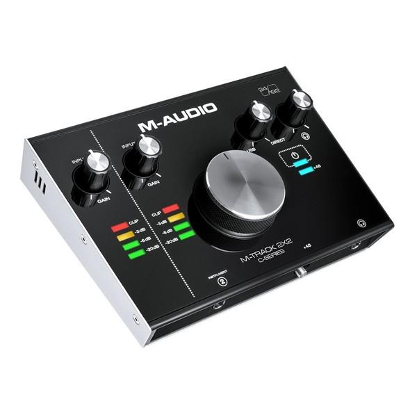 M-Audio M-Track 2x2 Audio Interface - Angled 2