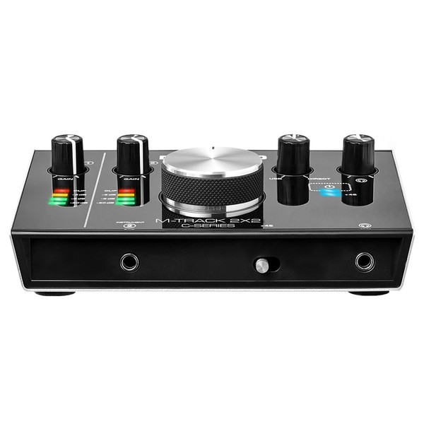 M-Audio M-Track 2x2 Portable Audio Interface - Front