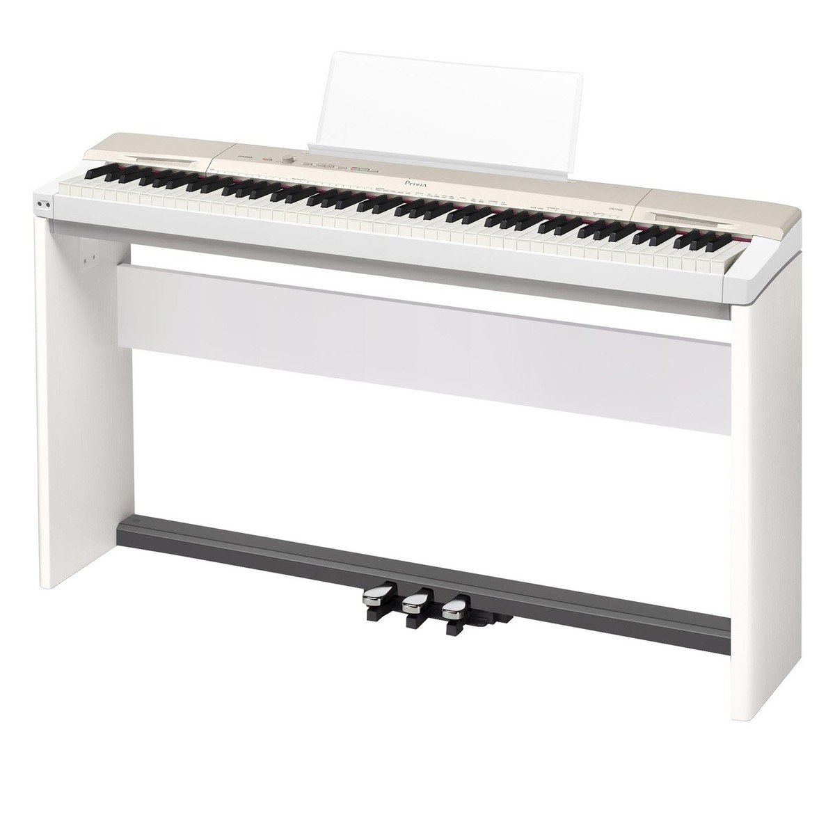 casio privia px 160 digital piano package white at gear4music. Black Bedroom Furniture Sets. Home Design Ideas