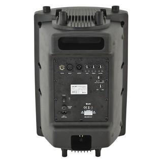 QTX QX10BT Active PA Loudspeaker - Rear
