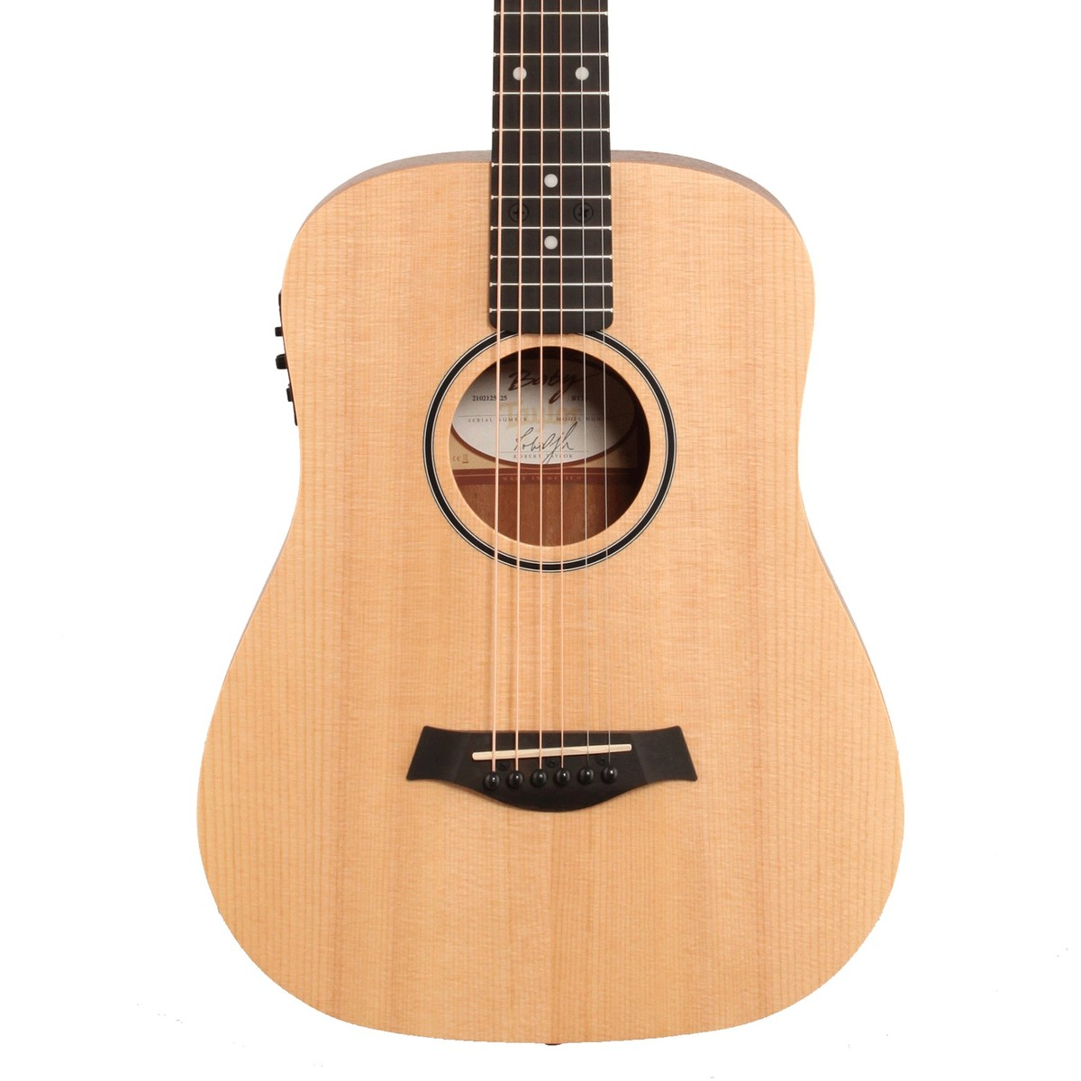 Taylor Baby Bt1e Electro Acoustic Travel Guitar Box