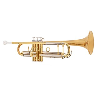 Jupiter JTR-1102 Trumpet Outfit, Clear Lacquer