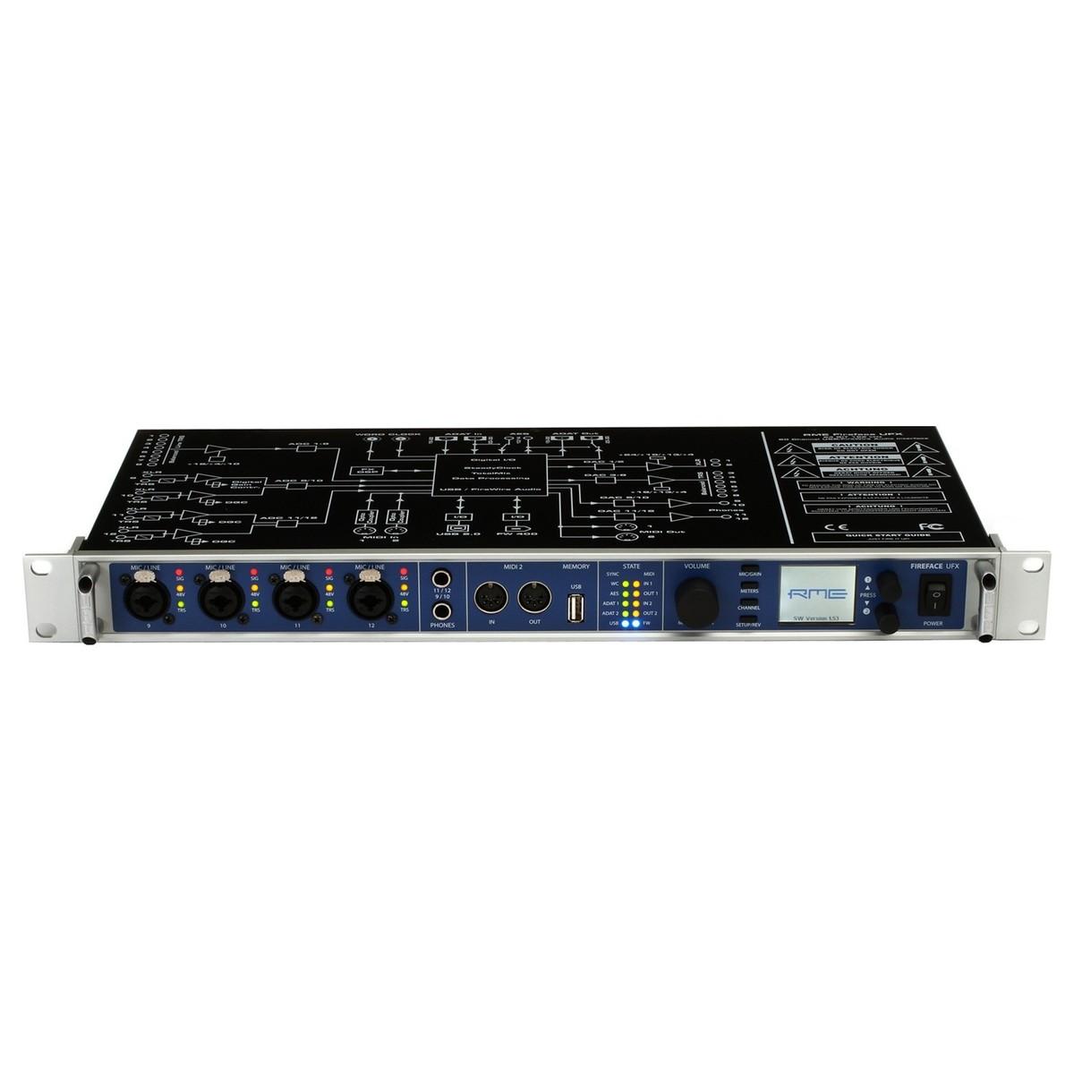 RME Fireface UFX Audio Interface Treiber Herunterladen