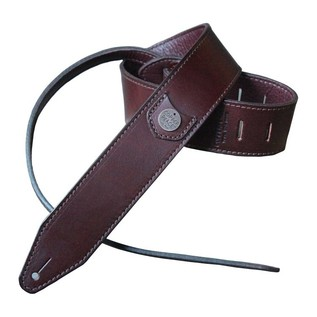 Copperpeace Marin Burgundy Leather Guitar Strap 1