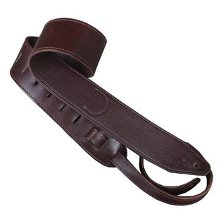 Copperpeace Marin Burgundy Leather Guitar Strap 2