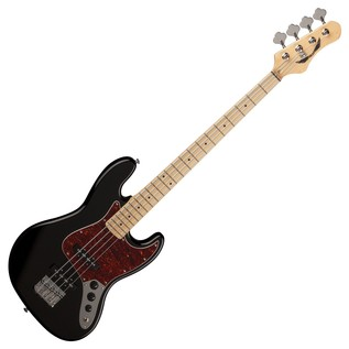 Dean Juggernaut Maple FB Bass Guitar, Classic Black
