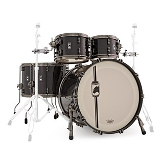 Mapex Black Panther Black Widow 5 Piece Shell Pack, Black