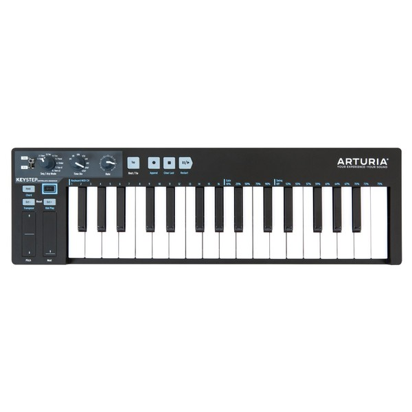 Arturia Keystep, Black Edition  - Top