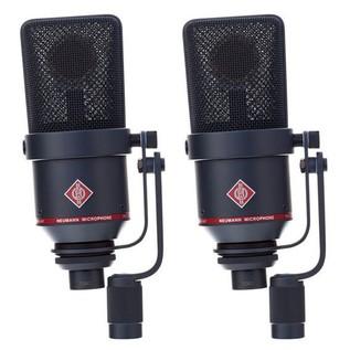 Neumann TLM 170 R mt Switchable Studio Microphone Stereo Set, Black