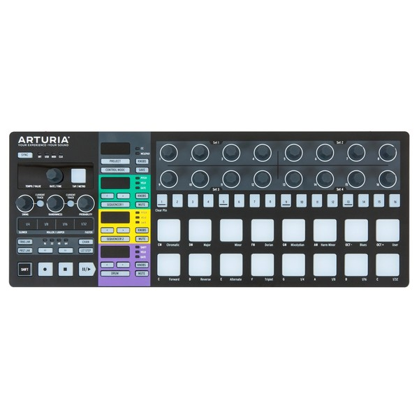Arturia Beatstep Pro, Black Edition - Top