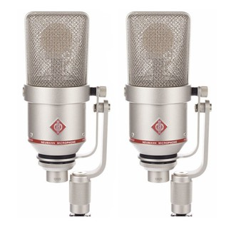 Neumann TLM 170 R Switchable Studio Microphone Stereo Set, Nickel