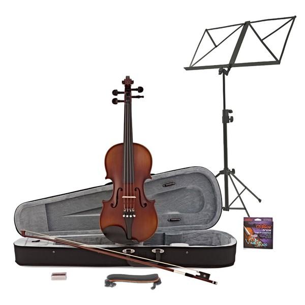 Archer 4/4 Violin Antique Fade + Accessory Pack