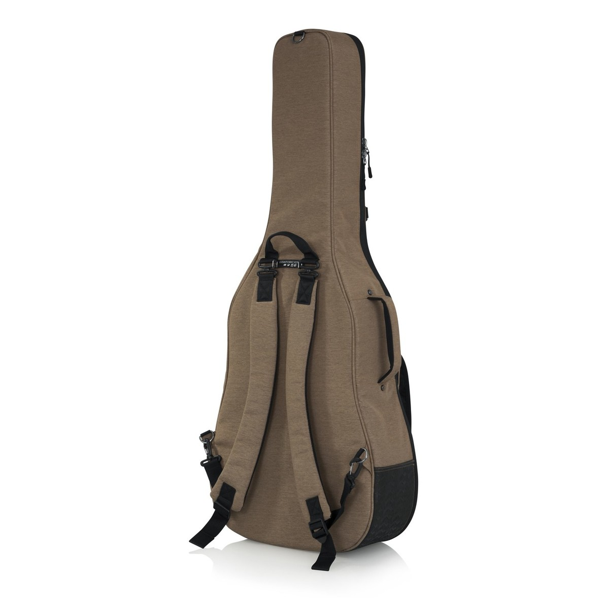 Gator Gt Acoustic Tan Transit Series Guitar Bag At Go Back Gallery For Electric Parts Rear Angled Loading Zoom