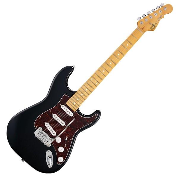 G&L Legacy Tribute Series Maple Electric Guitar, Black Full Guitar