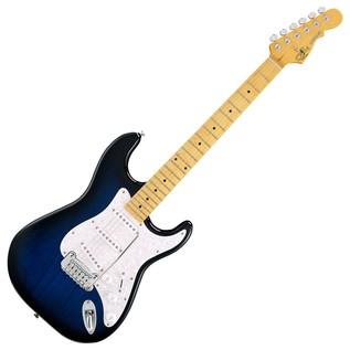 G&L Legacy Tribute Series Maple Electric Guitar, Blueburst Full Guitar