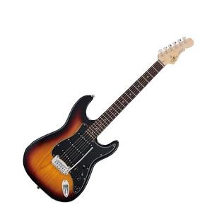 G&L Legacy Tribute Series Rosewood Electric Guitar, 3-Tone Sunburst Full Guitar