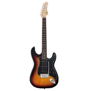 G&L Legacy Tribute Series Rosewood Electric Guitar, 3-Tone Sunburst Front View