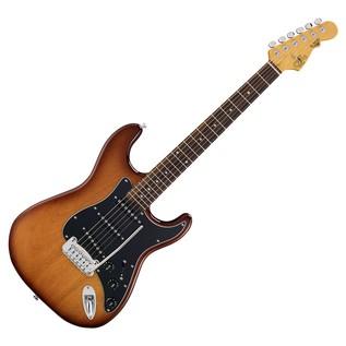 G&L Tribute S500 Electric Guitar, Tobacco Sunburst Full Guitar