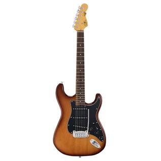 G&L Tribute S500 Electric Guitar, Tobacco Sunburst Front View