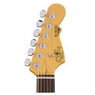 G&L Tribute S500 Electric Guitar, Tobacco Sunburst Neck View