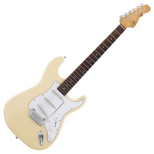 G&L Tribute S500 Electric Guitar, Vintage White Full Guitar