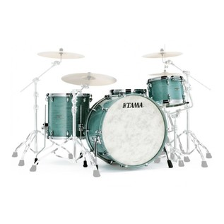 Tama Star Walnut 22'' 4pc Shell Pack, Smoky Blue Mist