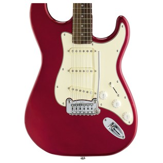 G&L Legacy Tribute Series Electric Guitar, Candy Apple Red Body View