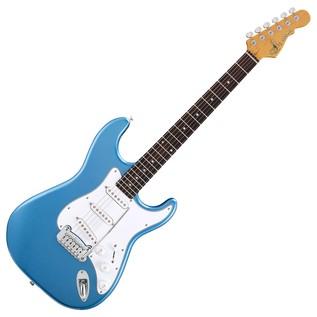 G&L Legacy Tribute Series Electric Guitar, Lake Placid Blue Full Guitar
