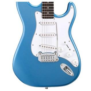 G&L Legacy Tribute Series Electric Guitar, Lake Placid Blue Body View