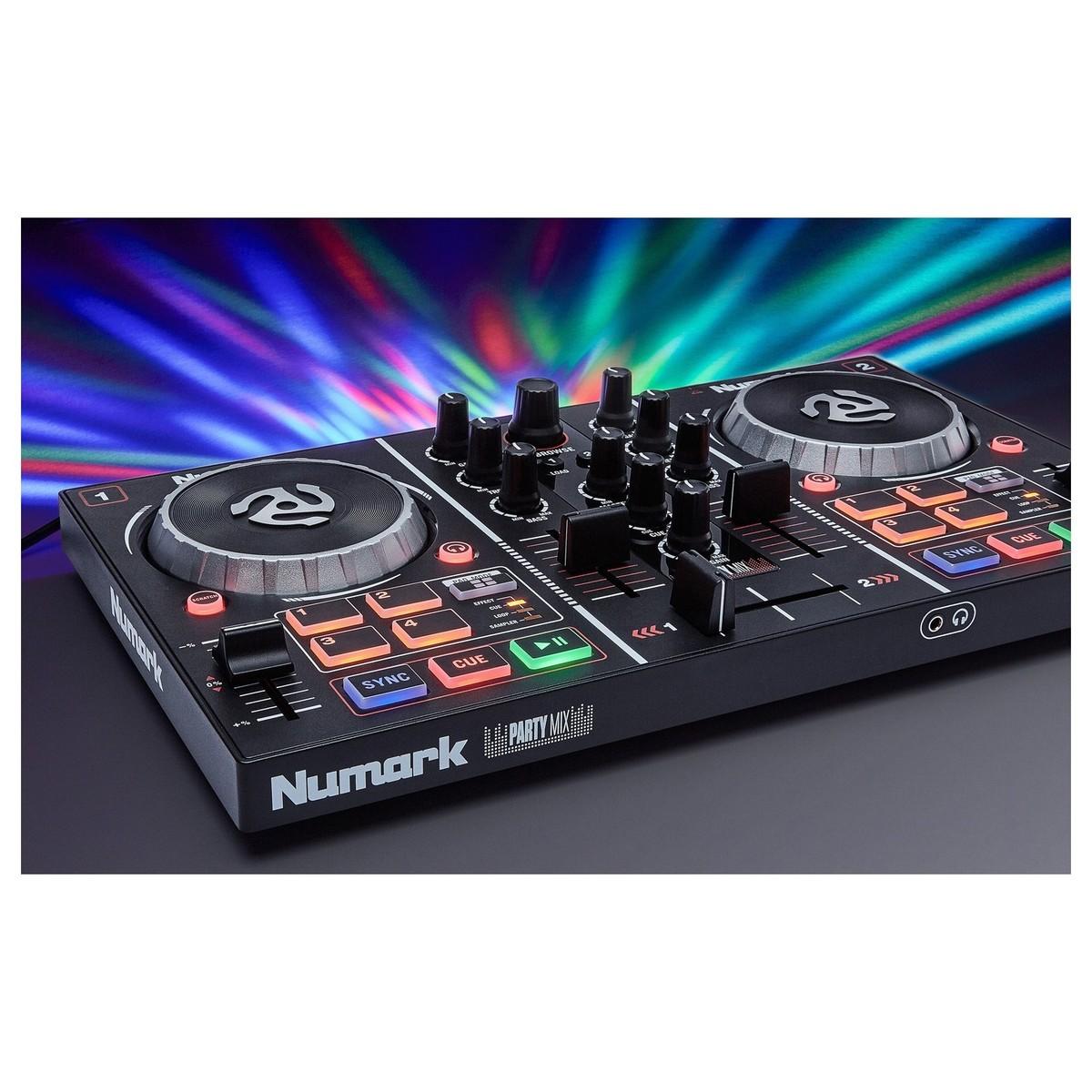 Numark PartyMix 2-Channel DJ Controller - B-Stock