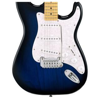 G&L Legacy Tribute Series Electric Guitar, Blueburst Body View