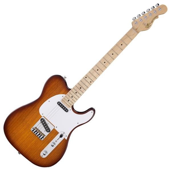 G&L Tribute ASAT Classic Electric Guitar, Tobacco Sunburst Full Guitar