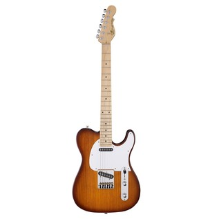 G&L Tribute ASAT Classic Electric Guitar, Tobacco Sunburst Front View