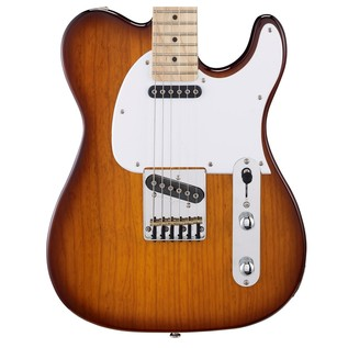 G&L Tribute ASAT Classic Electric Guitar, Tobacco Sunburst Body View