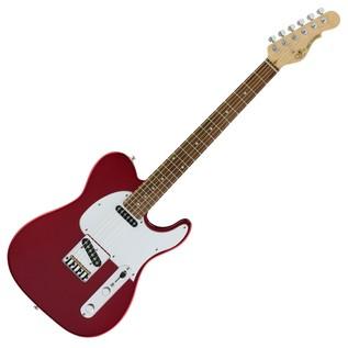 G&L Tribute ASAT Classic Electric Guitar, Candy Apple Red Full Guitar