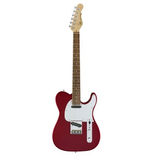 G&L Tribute ASAT Classic Electric Guitar, Candy Apple Red Front View