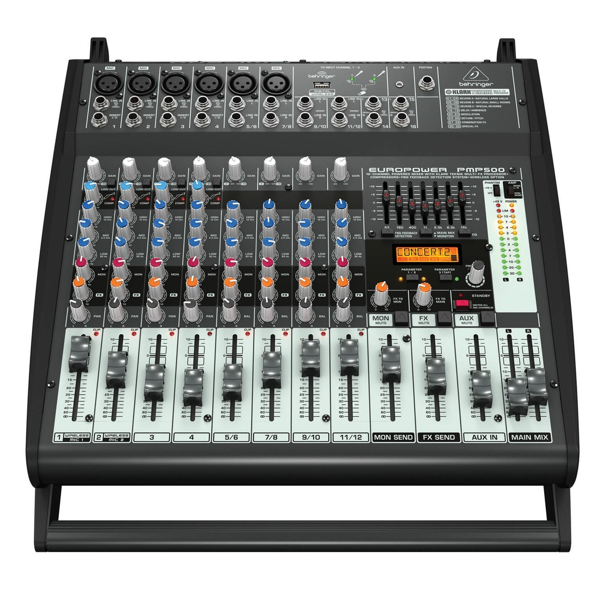 behringer pmp500 europower mixer amplifier at gear4music. Black Bedroom Furniture Sets. Home Design Ideas