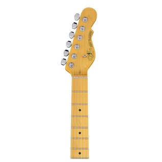 G&L Tribute ASAT Classic Bluesboy Semi-Hollow, Clear Orange Neck View