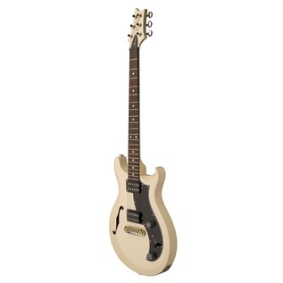 PRS S2 Mira Semi-hollow Electric Guitar, Antique White 2