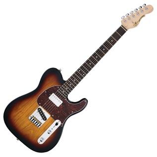 G&L Tribute ASAT Classic Bluesboy, 3-Tone Sunburst Full Guitar