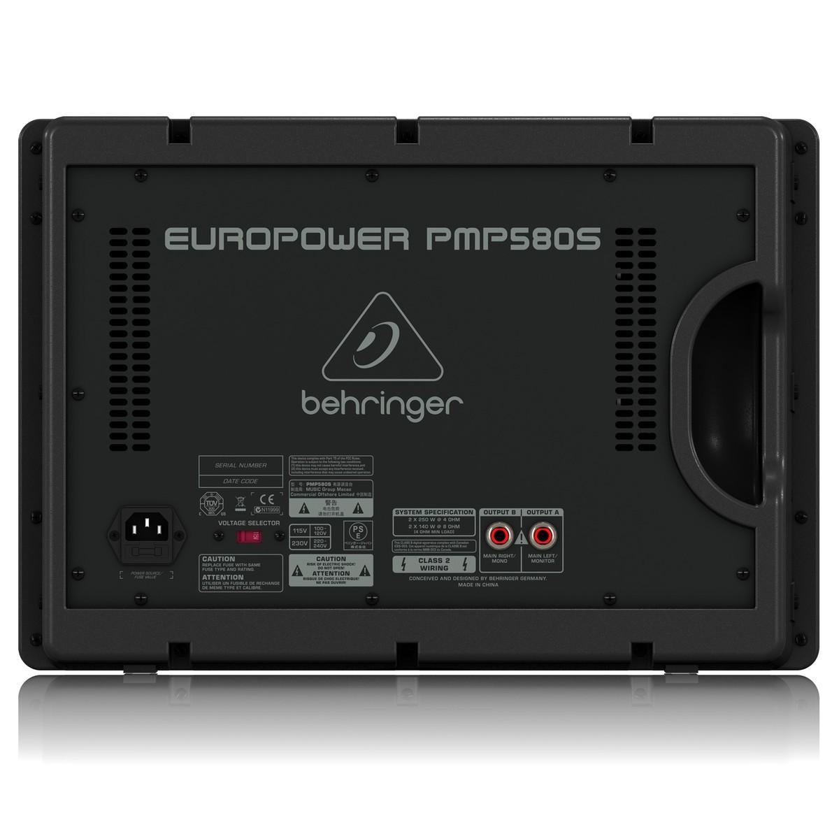 Behringer PMP580S EUROPOWER